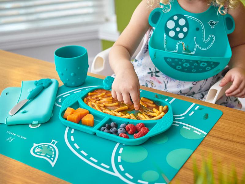 加拿大Marcus矽膠兒童餐具