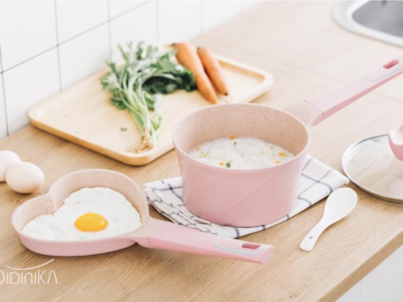 韓國 麥飯石不沾寶寶鍋