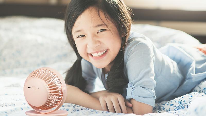艾美特小型電風扇