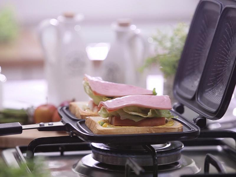 韓國製鈦雙面早午餐鍋