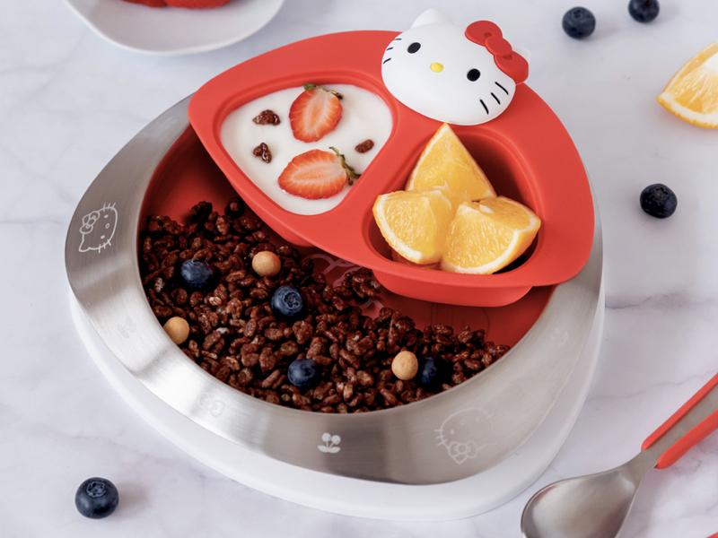 VIIDA 抗菌兒童不鏽鋼餐具