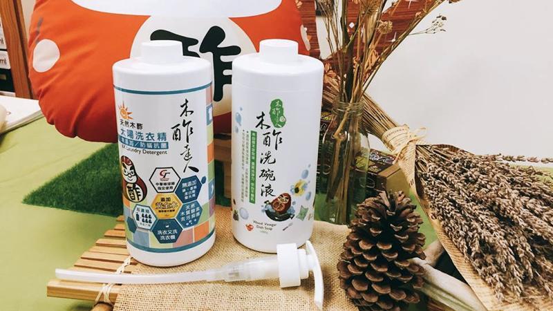 臺灣木酢達人抑菌清潔液