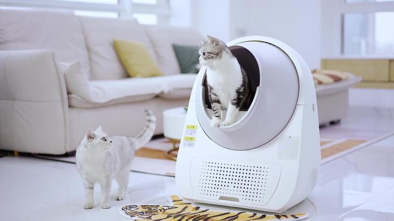 Catlink AI智能貓砂機