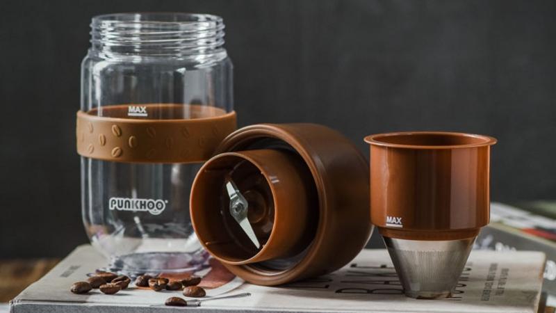 咖啡豆豆果汁杯