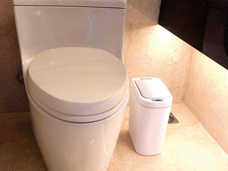 防水感應垃圾桶 7L
