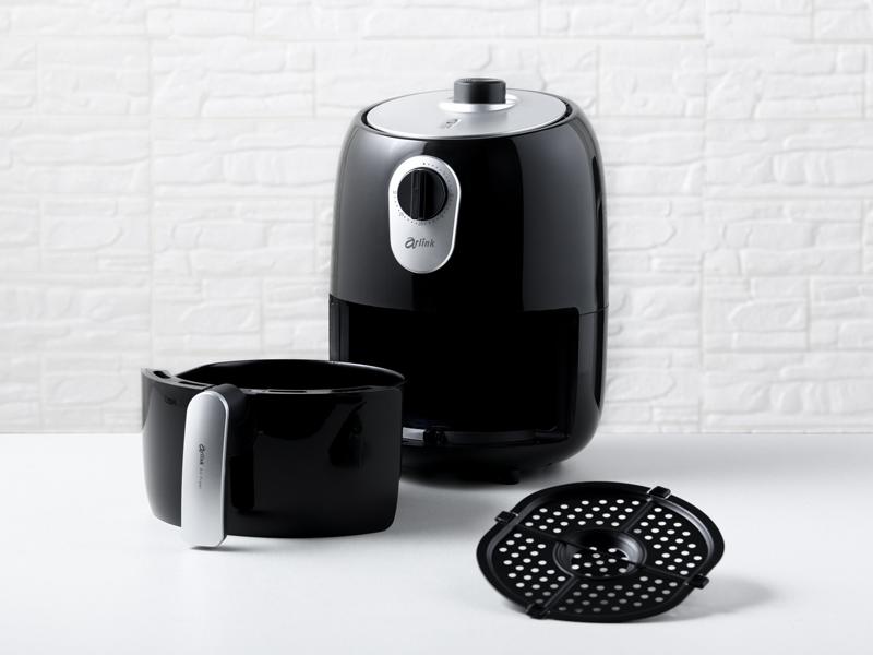 免油健康氣炸鍋(贈:烘烤鍋+料理夾+料理刷)EC-203