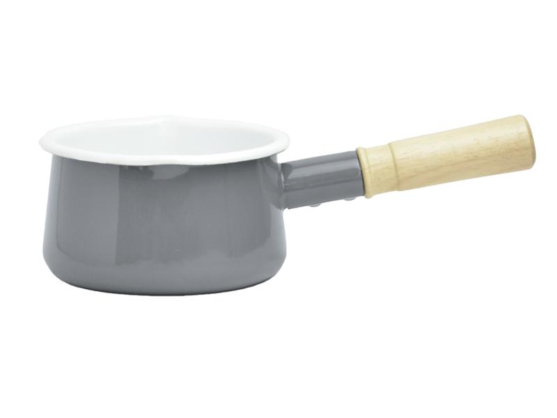 都會系列 琺瑯原木牛奶鍋
