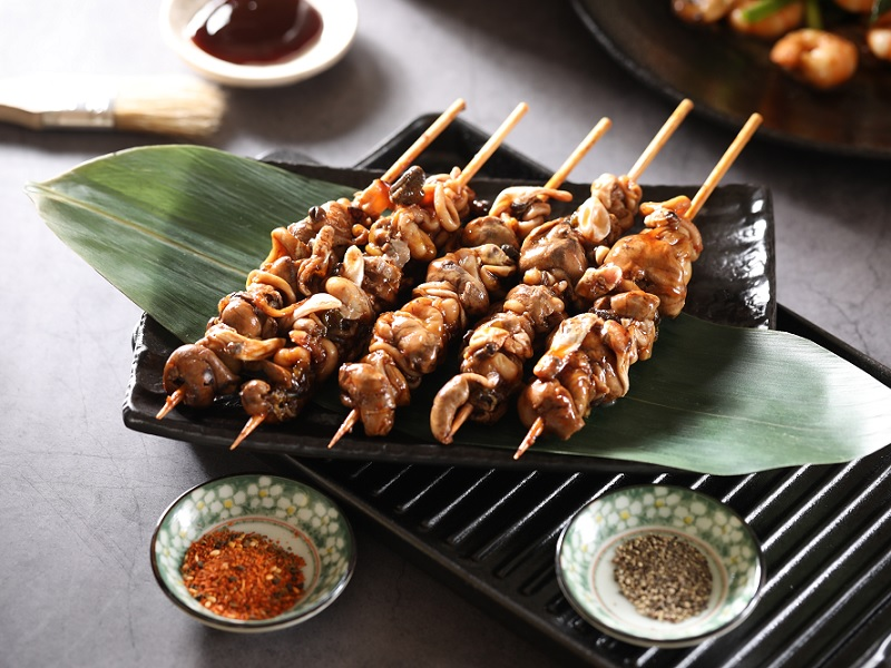 串燒白鰻魚肚(花膠)