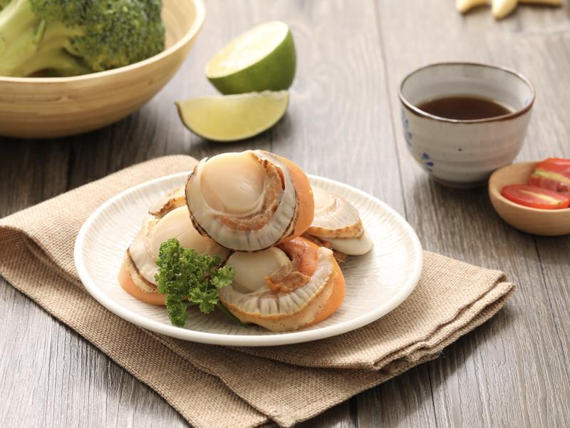 日本帶卵帆立貝(L)
