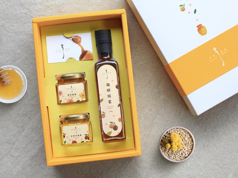 享樂蜂蜜  精裝蜂蜜禮盒(3罐入)