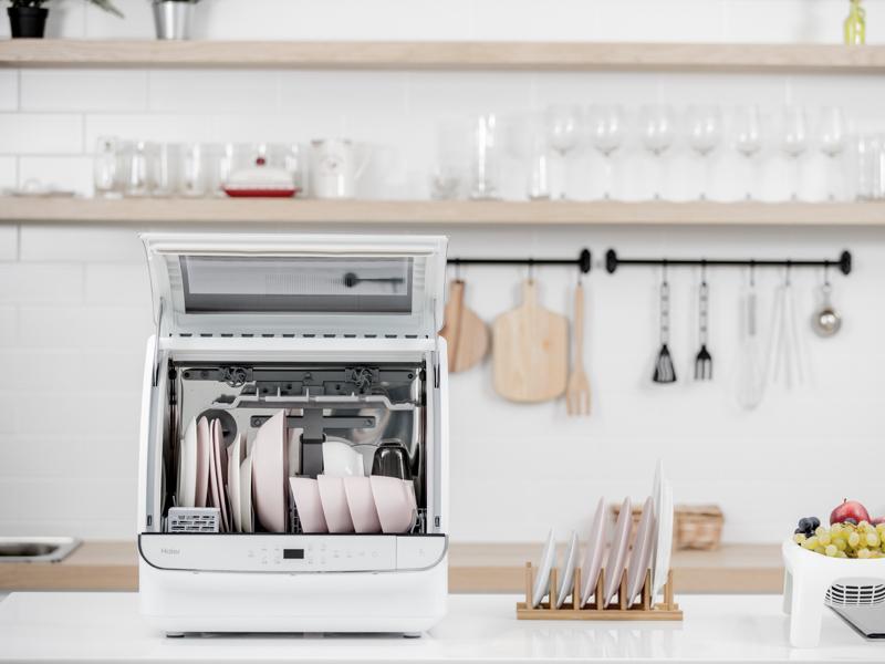 海爾小海貝全自動洗碗機(贈:30L 雙溫控旋風烤箱)