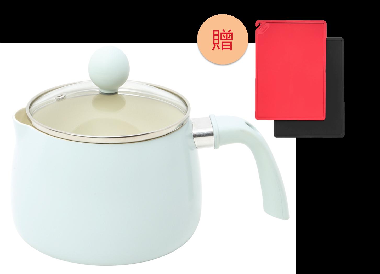 COPAN 系列 多功能單柄料理鍋(贈:迷你砧板)