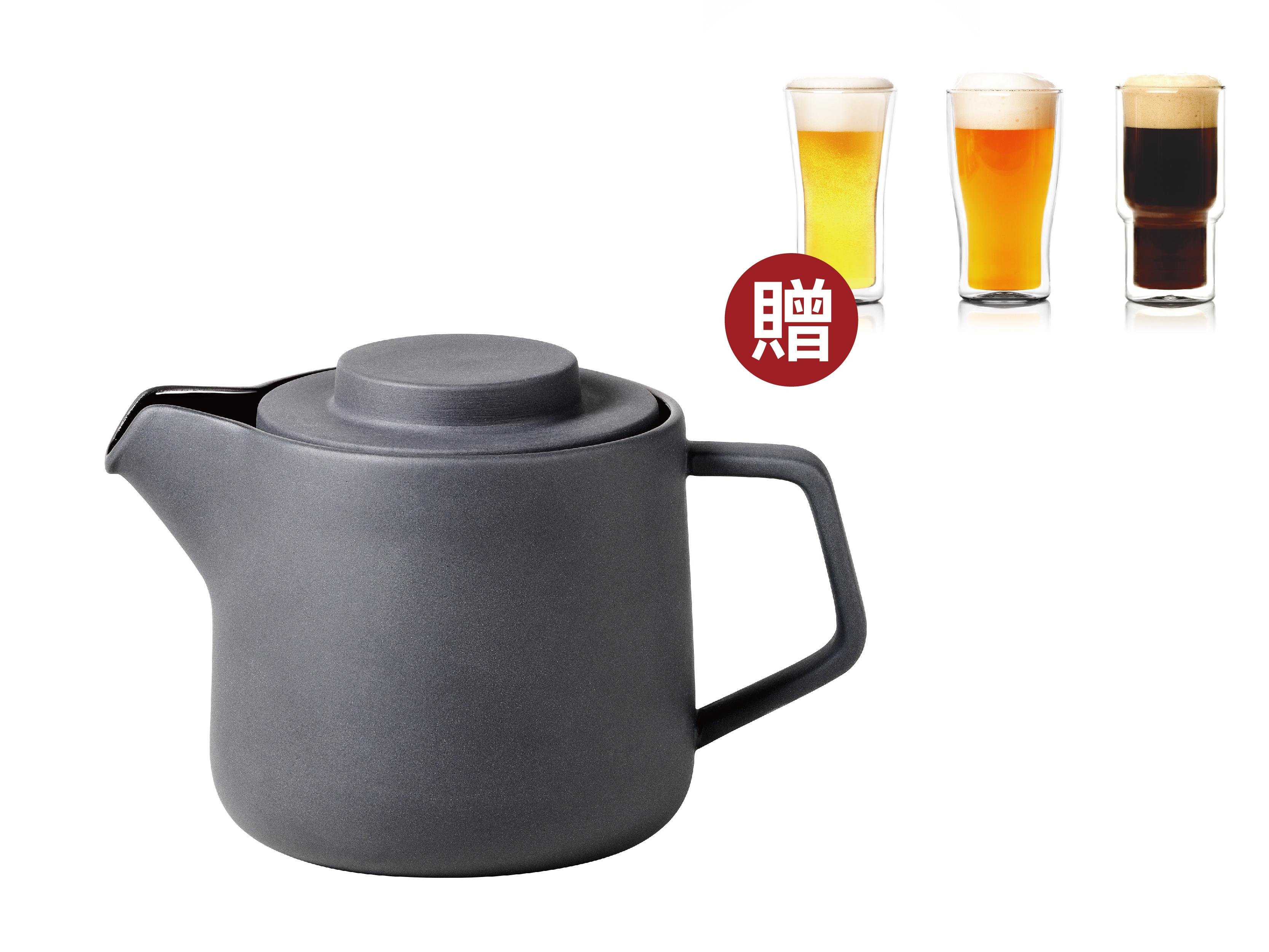 THAT! 咖啡・茶兩用壺(贈:雙層玻璃杯)