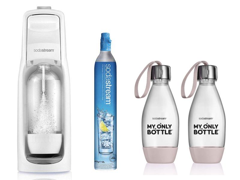 JET 氣泡水機 純淨白 套組B