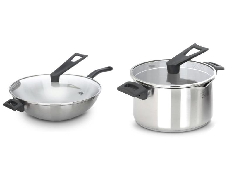德國 CS 不鏽鋼雙鍋組