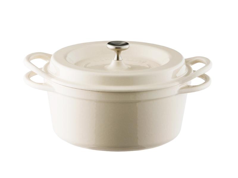 琺瑯鑄鐵鍋 18cm(特殊色)(贈:木磁力鍋墊 18cm)
