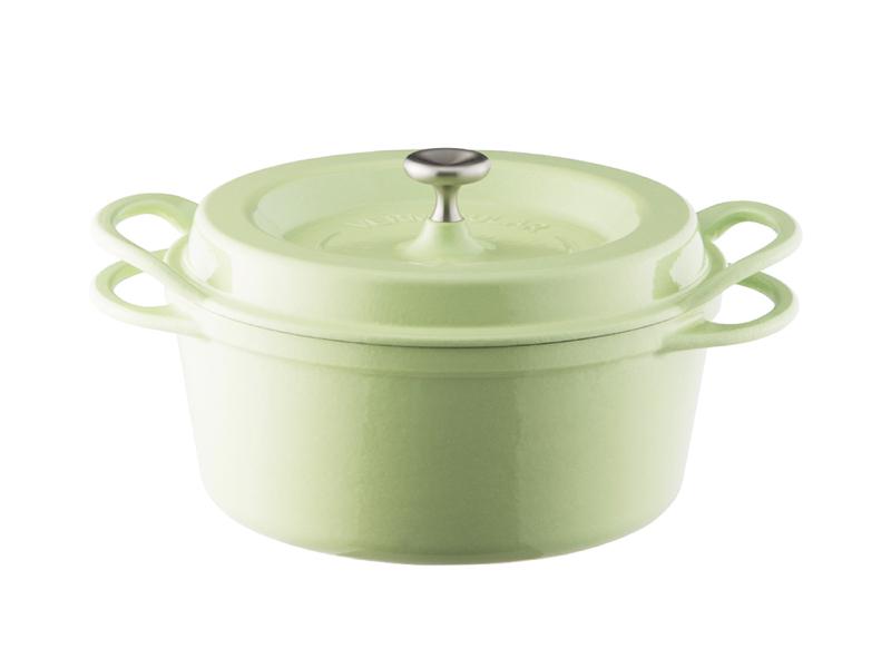 琺瑯鑄鐵鍋 22cm(一般色)(贈:木磁力鍋墊 22cm)