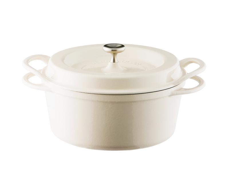 琺瑯鑄鐵鍋 22cm(特殊色)(贈:木磁力鍋墊 22cm)