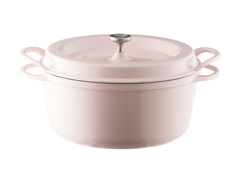 琺瑯鑄鐵鍋 26cm(一般色)(贈:木磁力鍋墊 26cm)