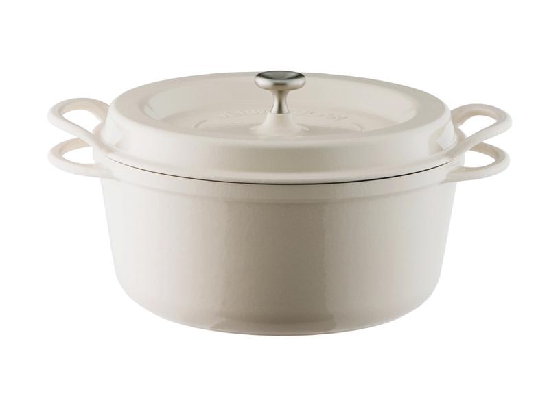 琺瑯鑄鐵鍋 26cm(特殊色)(贈:木磁力鍋墊 26cm)