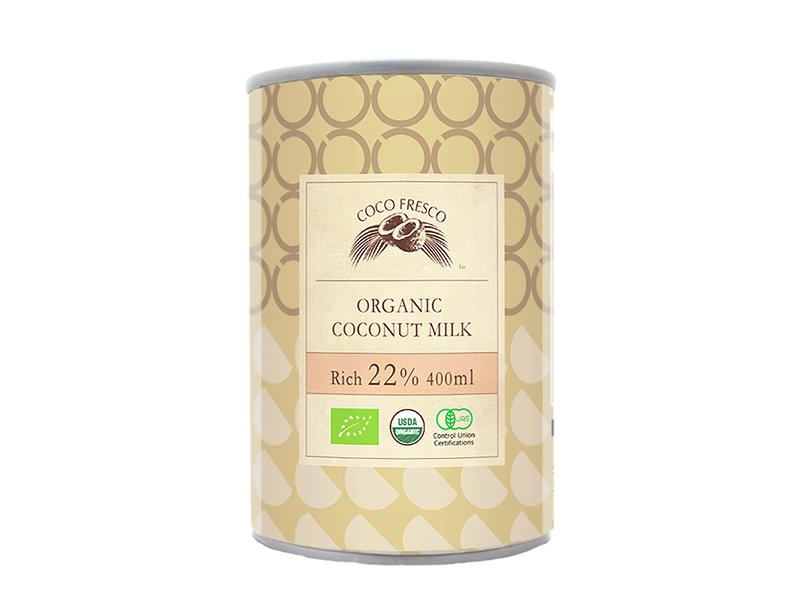 有機椰奶 22%