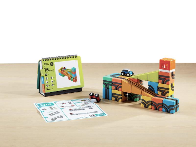 益智磁吸軌道玩具 雙人組(贈:軌道方塊x4+挑戰卡片x1)