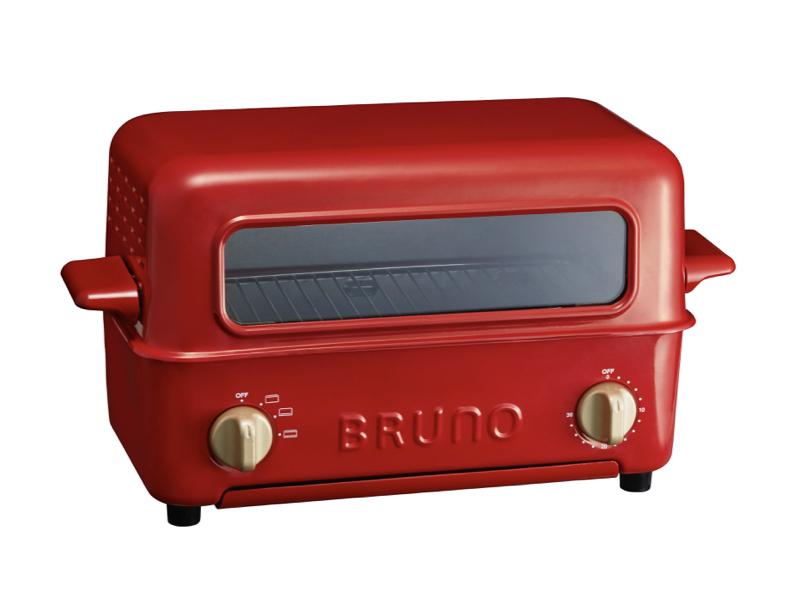 上掀式蒸氣烤箱 紅色(贈:圓形岩板)