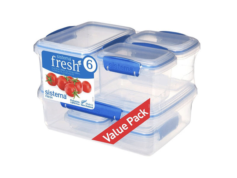 fresh 系列保鮮盒六件組