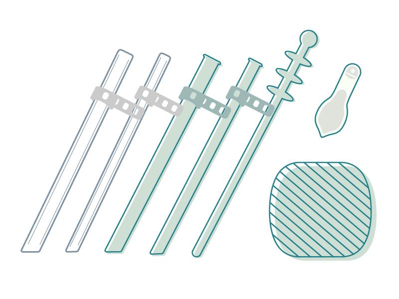 【超早鳥預購】空氣吸管 方形(加購透明吸管)