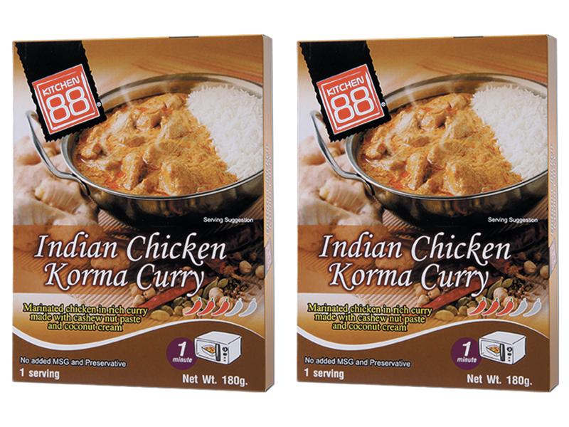 KITCHEN88 印度 KORMA 咖哩雞即食包 2入