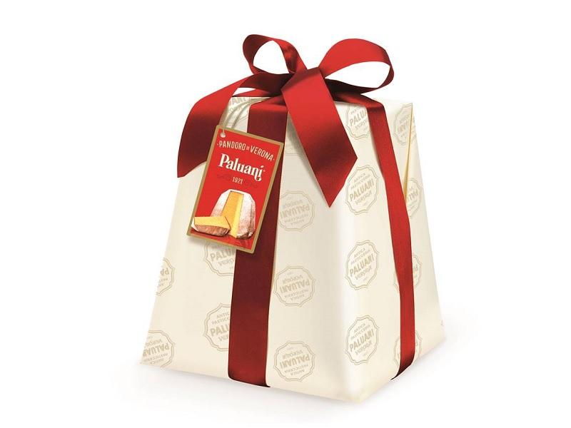 手工精裝紅絲帶義大利水果麵包