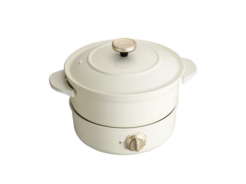 萬能調理鍋 白色(贈:裝飾旋鈕)