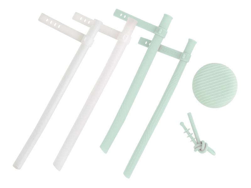 空氣吸管 圓形(加購透明吸管)