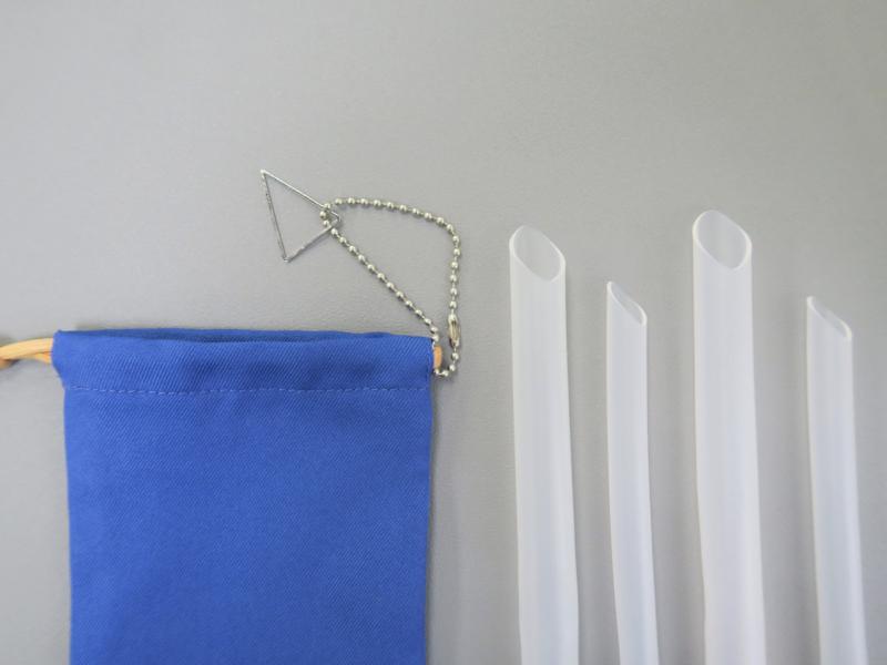 矽吸管&三稜膜戳組(雙套組)