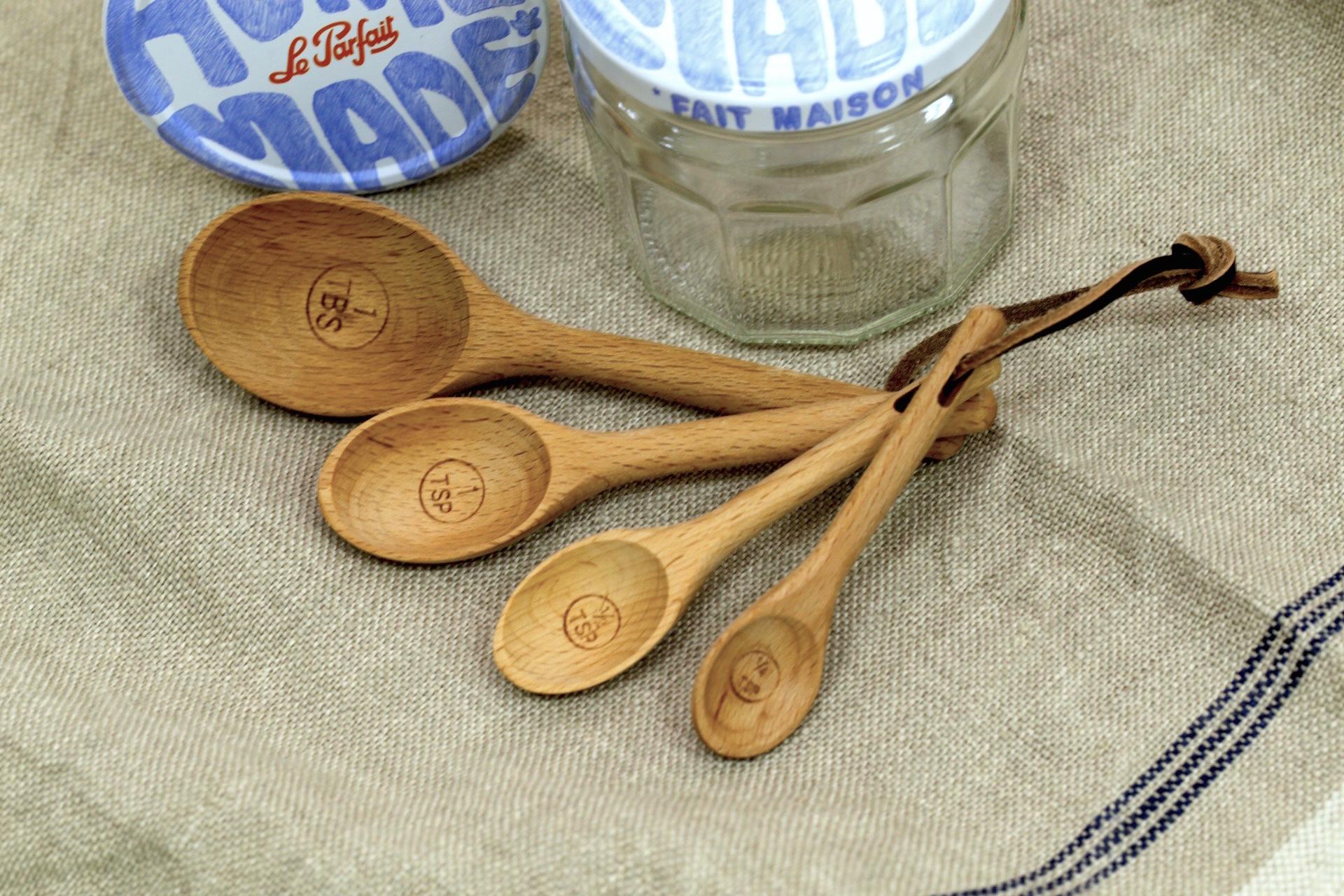 【加價購】櫸木量勺一組