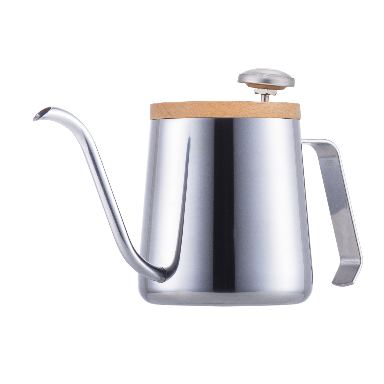 A-IDIO 時尚手沖咖啡壺(鏡光銀)