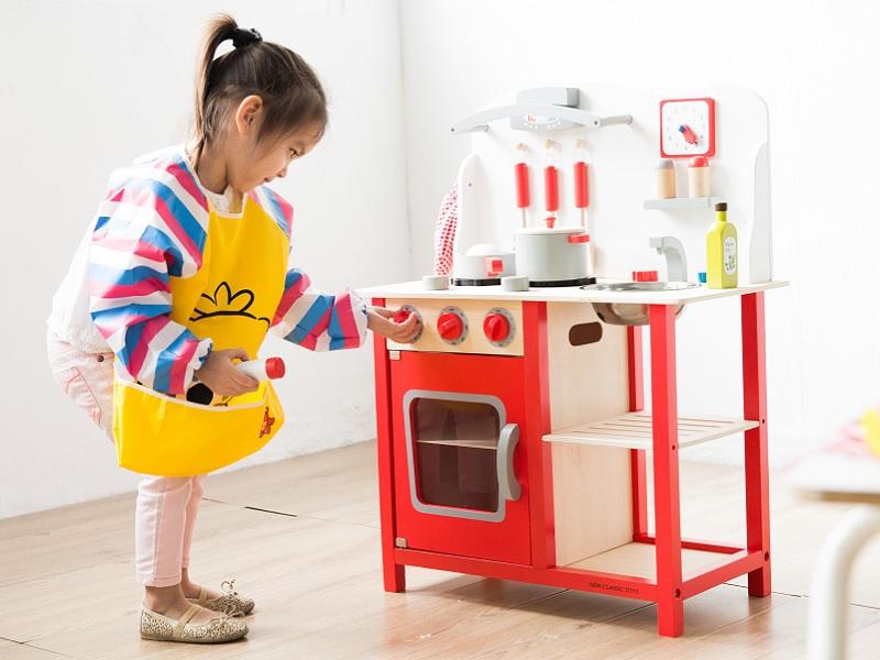 華麗小主廚木製廚房玩具(贈經典墨西哥比薩切切樂)