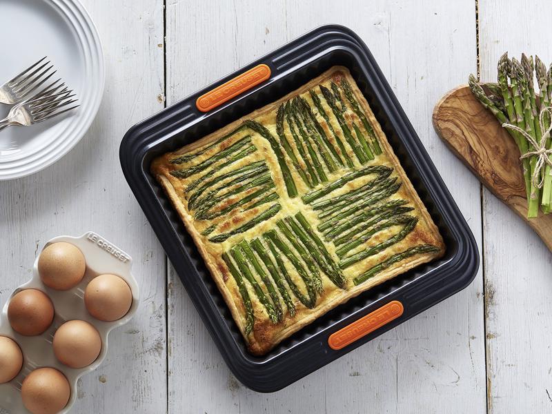 LE CREUSET-正方形波浪烤盤