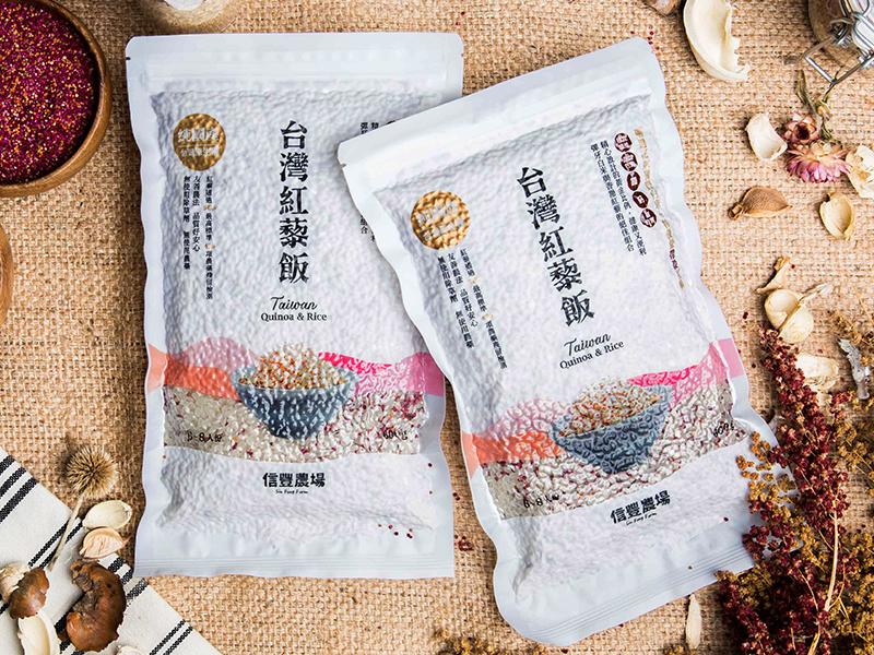 台灣紅藜飯(兩包組)