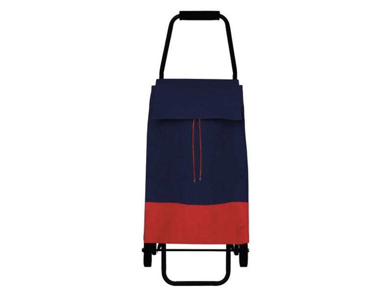 PERIGOT時尚摺疊購物推車-防潑水厚磅帆布