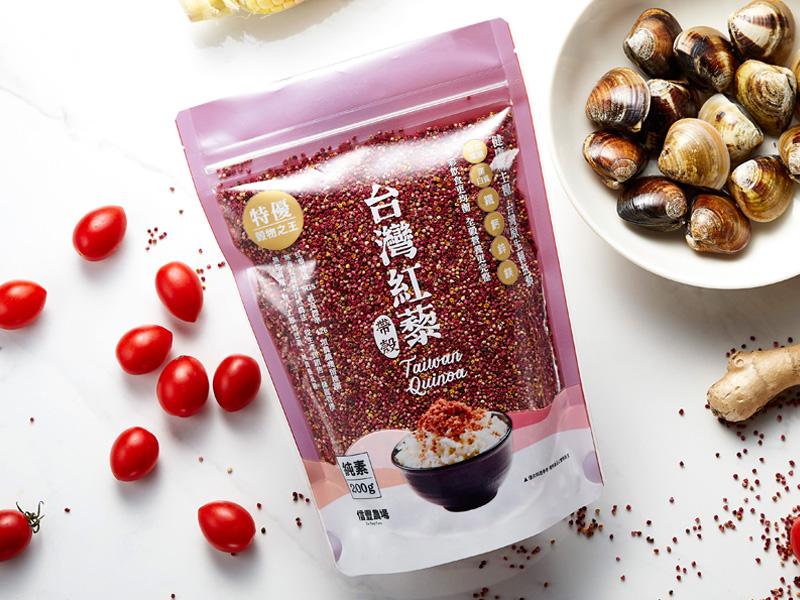 台灣紅藜_帶殼(夾鏈袋包裝) x 2