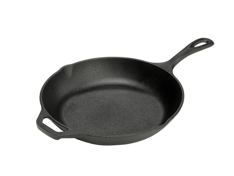 Lodge 鑄鐵主廚弧形平煎鍋 10吋/25公分