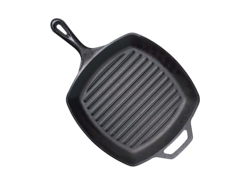 Lodge鑄鐵方型牛排煎鍋 10.5吋