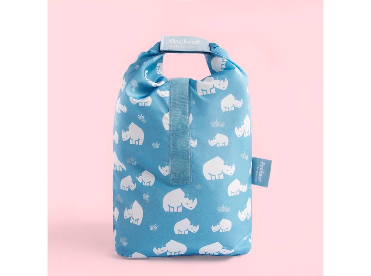 Pockeat 食物袋(大)犀牛