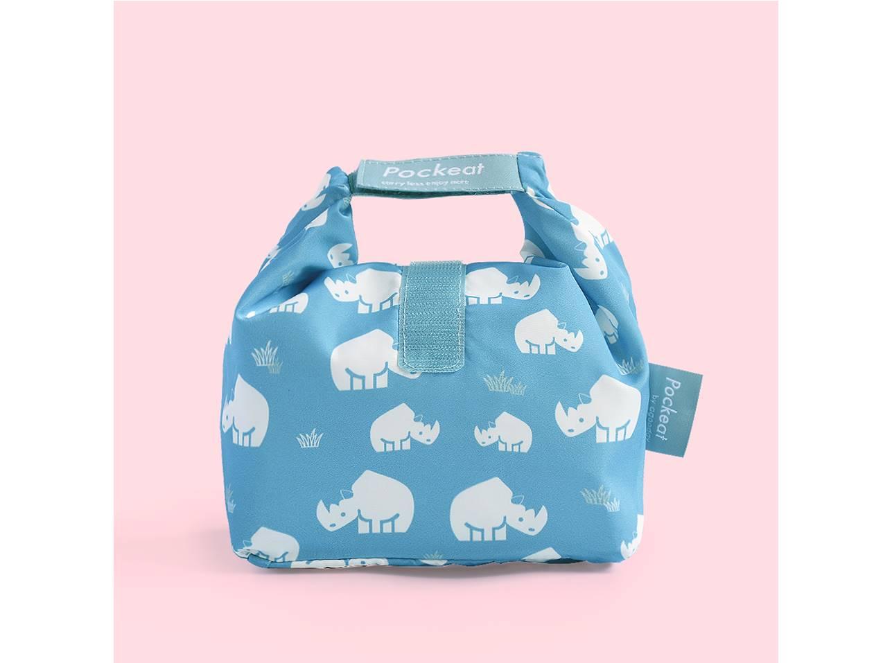 Pockeat 食物袋(小)犀牛
