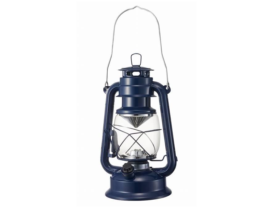 復古LED電池式露營燈(附收納袋)