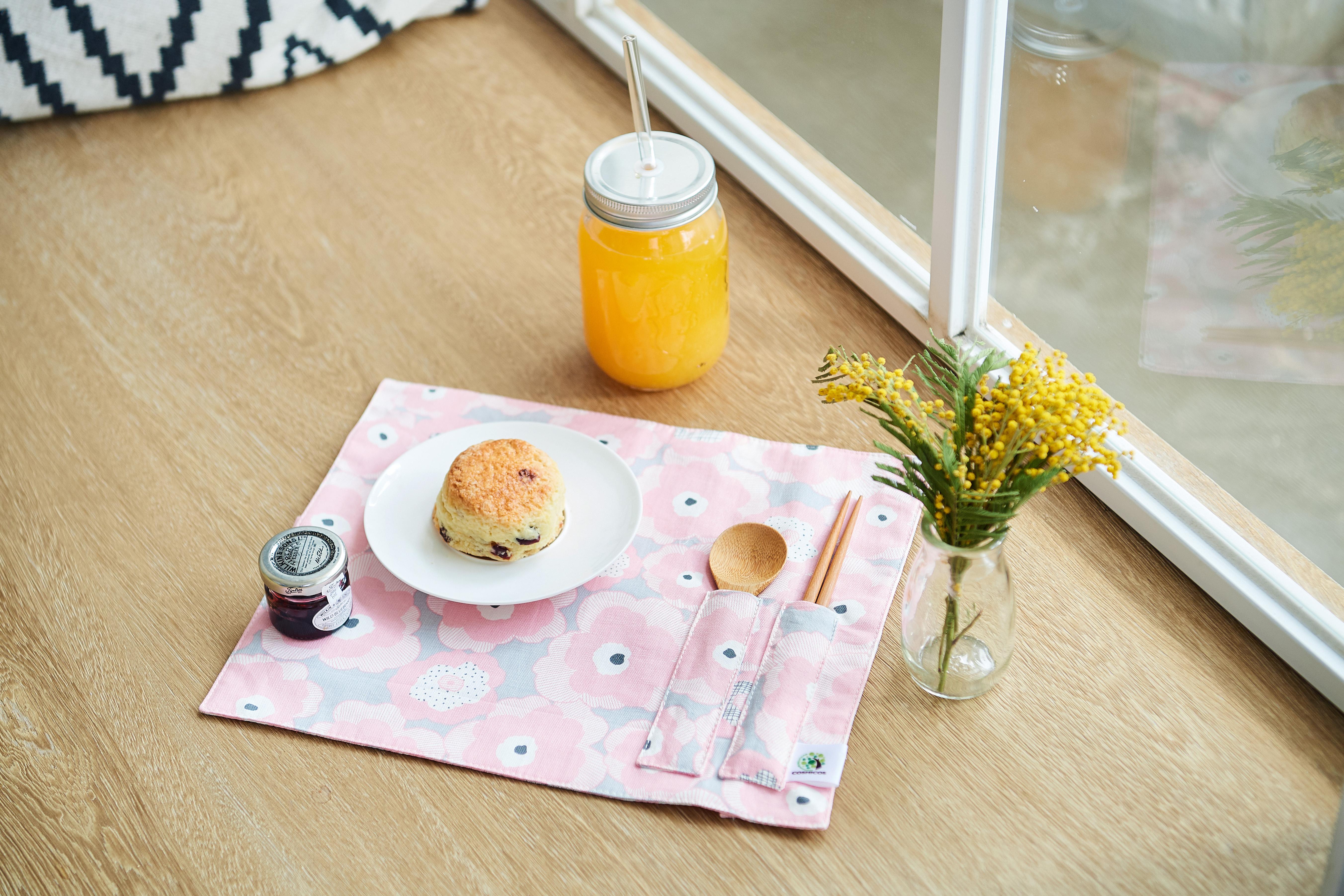 減塑花系列 餐墊/餐具袋