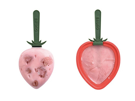日本BRUNO夢幻冰棒模具 草莓