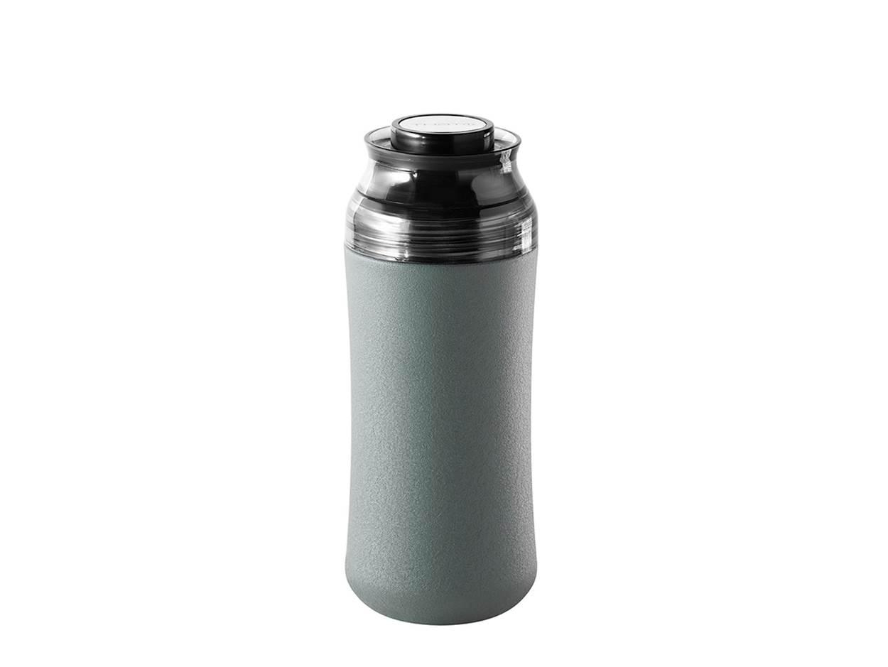 奇想伶巧陶瓷保溫杯-橄欖灰