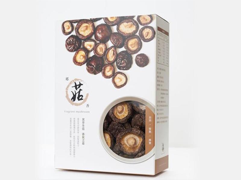 有機黑早特級冬菇(厚實中菇-240g)